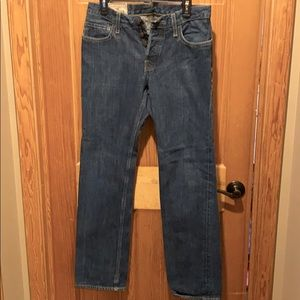 Men's Slim Straight Hollister Jeans 30 x 32